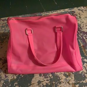 Hot pink jelly bag